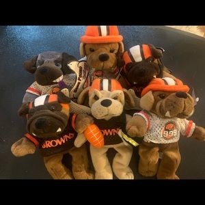 Collectors Cleveland browns dog pound